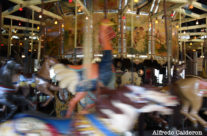 Merry-Go-Round in Motion 2