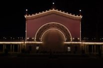 Organ Pavilion at Night