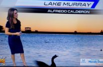 Lake Murray Sunset Featured on Local News